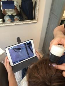 ヘッドスパ 頭皮診断 横浜 元町 美容院 美容室 アゴラルルディ