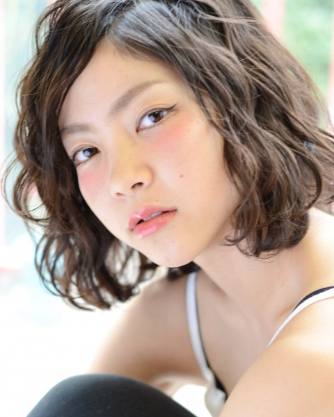 横浜元町 美容室 アゴラルルディ オーガニック ヘアカラー パーマ ヘアカタログ