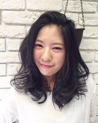 横浜元町 美容室 アゴラルルディ kasumi パーマ デジタルパーマ ロングヘア